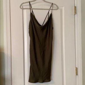 Bardot Green Sleeveless Dress Size Small
